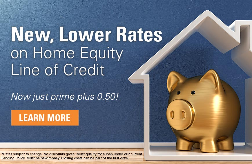 New, Lower Home Equity Line of Credit Rates